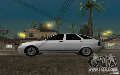 LADA priora light tuning hatchback for GTA San Andreas left view