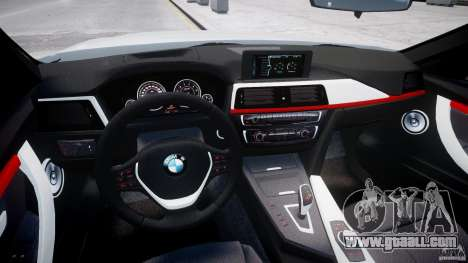 BMW 335i E30 2012 Sport Line v1.0 for GTA 4 right view