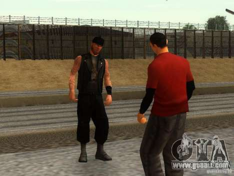 The realistic school bikers v1.0 for GTA San Andreas third screenshot