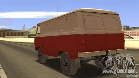 UAZ 450 for GTA San Andreas back left view