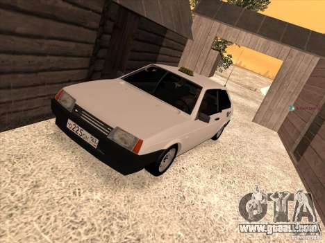 VAZ 2108 Taxi for GTA San Andreas