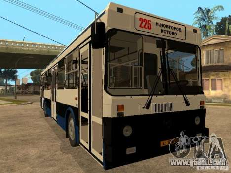 LIAZ 5256.00 for GTA San Andreas left view