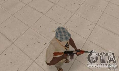 AK 47 for GTA San Andreas third screenshot