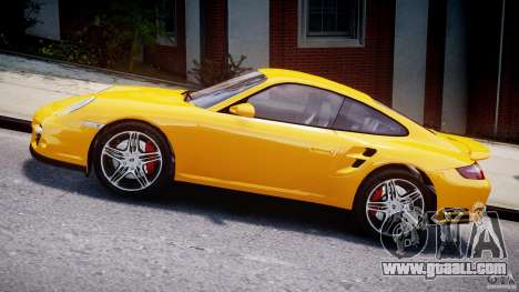 Porsche 911 Turbo V3.5 for GTA 4 left view