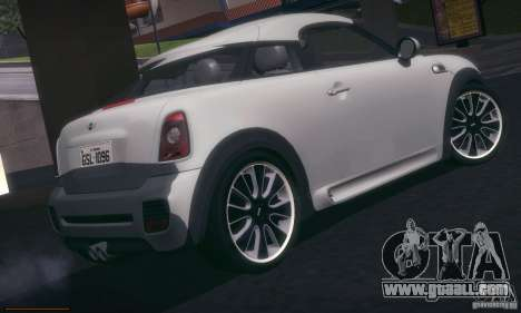 Mini Concept Coupe 2010 for GTA San Andreas right view