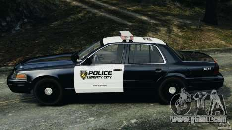 Ford Crown Victoria Police Interceptor 2003 LCPD for GTA 4 left view