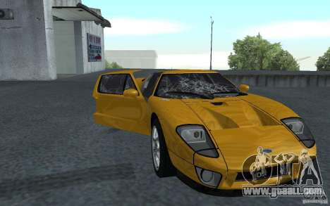 Ford GT 40 for GTA San Andreas left view