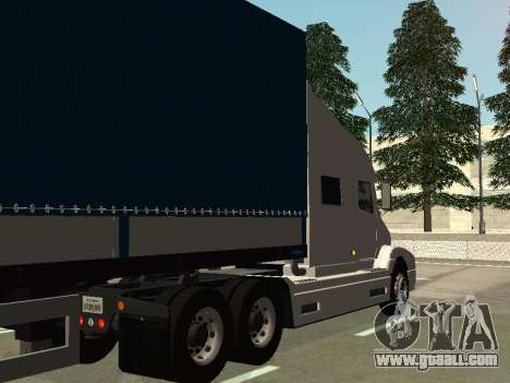Volvo VNL for GTA San Andreas right view