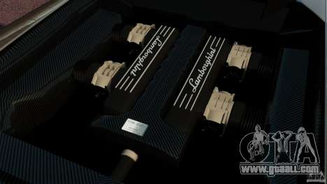 Lamborghini Murcielago LP670-4 SV [EPM] for GTA 4 inner view