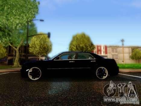 Chrysler 300C VIP for GTA San Andreas left view
