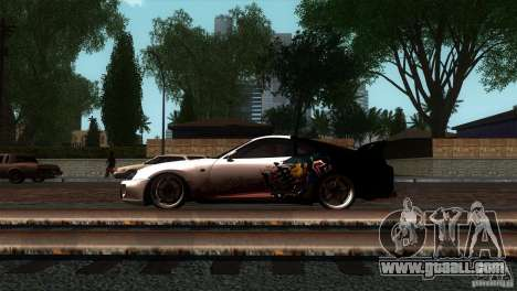 Toyota Supra RZ for GTA San Andreas left view