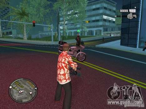 Tony Montana for GTA San Andreas seventh screenshot