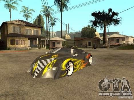 Thunderbold SlapJack for GTA San Andreas side view