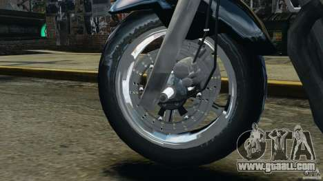Kawasaki Zephyr for GTA 4 inner view