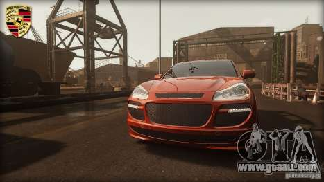 PORSCHE CAYENNE TURBO TUNING for GTA 4 left view