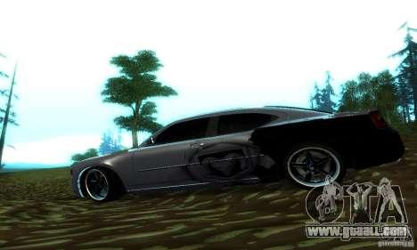 Dodge Charger SRT8 Mopar for GTA San Andreas left view