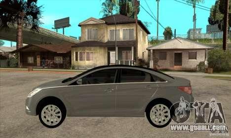 Hyundai Sonata 2011 for GTA San Andreas left view