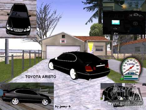 TOYOTA ARISTO 2001 year for GTA San Andreas side view