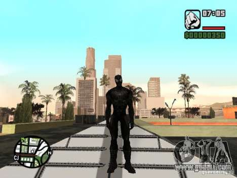 Spider-man enemy in reflection for GTA San Andreas third screenshot