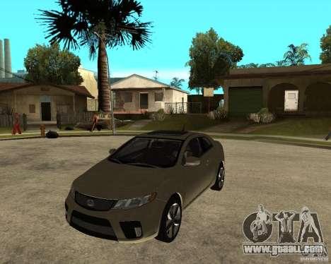 KIA Forte Coup for GTA San Andreas