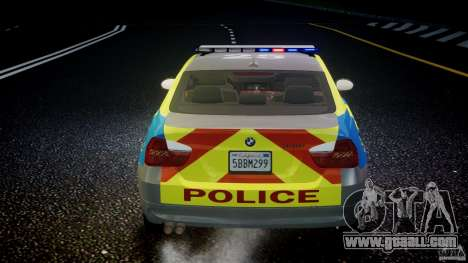 BMW 350i Indonesian Police Car [ELS] for GTA 4 wheels