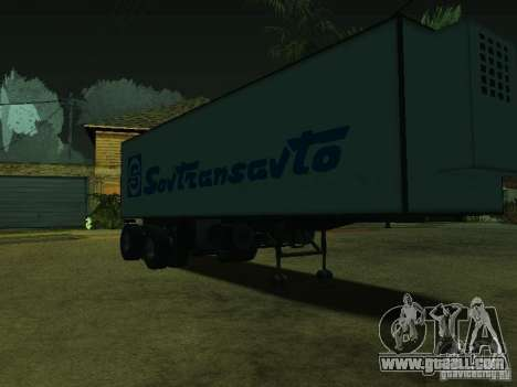 Container Carrier + Sovtransavto for GTA San Andreas right view