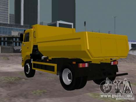 KAMAZ 53605 TAI version 1.1 for GTA San Andreas back left view