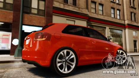 Audi S3 2010 v1.0 for GTA 4 left view
