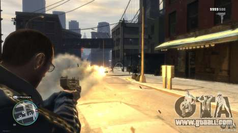 Micro Uzi Rocket Mod for GTA 4 third screenshot