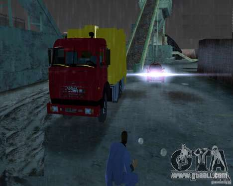 Kamaz Garbage Truck for GTA Vice City