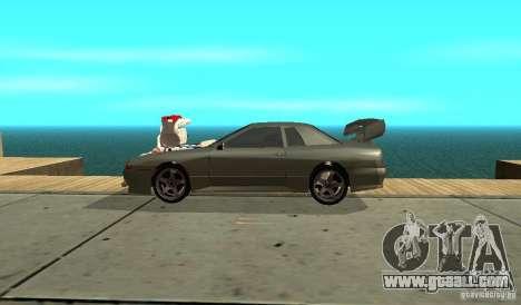Elegy v1.1 for GTA San Andreas left view