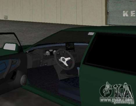 VAZ 2109 Tuning v2.0 for GTA Vice City back view