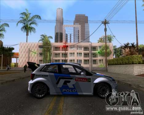 Volkswagen Polo WRC for GTA San Andreas left view