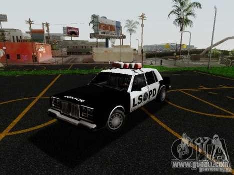 Greenwood Police LS for GTA San Andreas