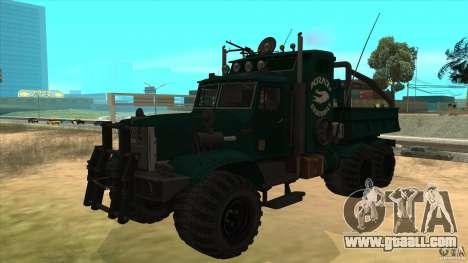 KrAZ 255 B1 Krazy-Crocodile for GTA San Andreas