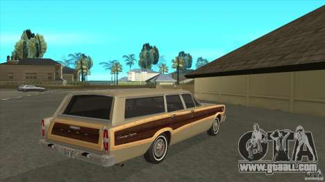 Ford Country Squire 1966 for GTA San Andreas right view