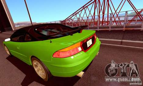 Eagle Talon TSi AWD 1998 for GTA San Andreas back view