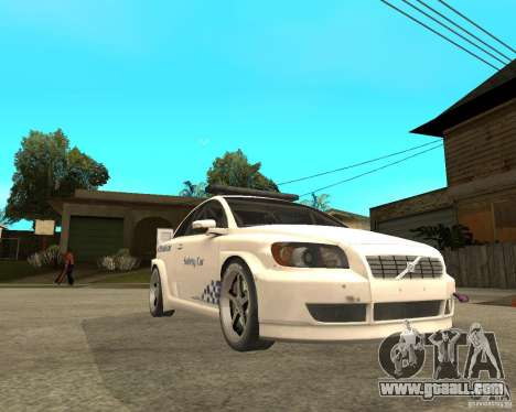 VOLVO C30 SAFETY CAR STCC v2.0 for GTA San Andreas right view