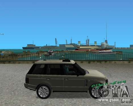 Rang Rover 2010 for GTA Vice City right view