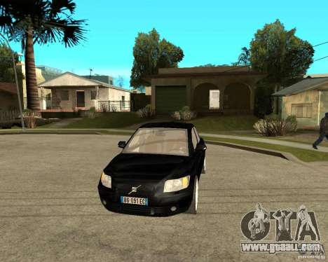 Volvo s40 t5 2008 for GTA San Andreas back view