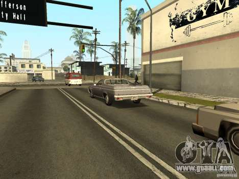 GFX Mod for GTA San Andreas eighth screenshot