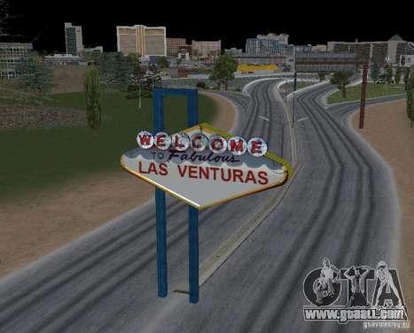 Real New Vegas v1 for GTA San Andreas third screenshot