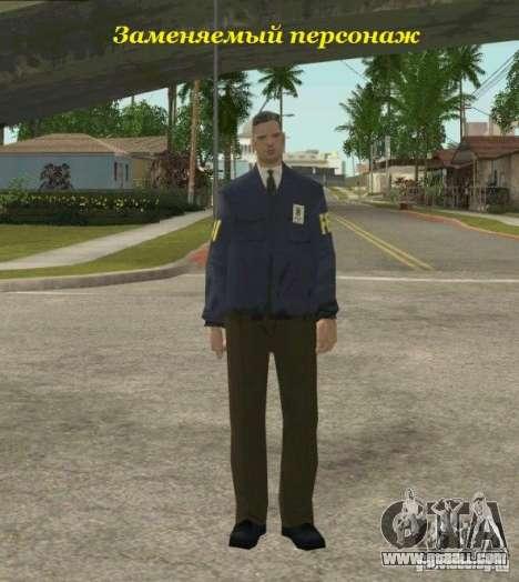 Lebedev of S.T.A.L.K.E.R. clear sky for GTA San Andreas forth screenshot