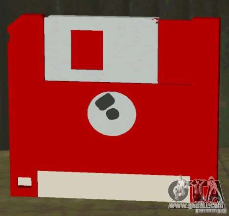 New HD floppy disk save for GTA San Andreas second screenshot