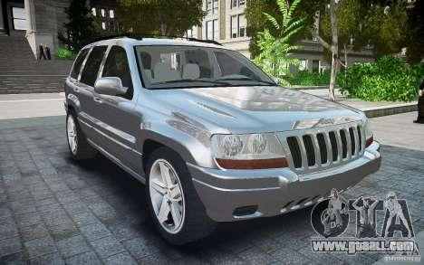 Jeep Grand Cheroke for GTA 4 right view