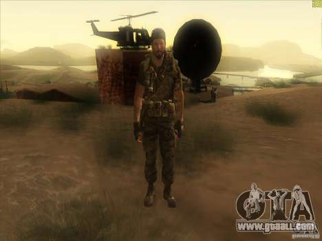 Frank Woods for GTA San Andreas sixth screenshot
