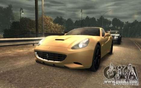 Ferrari California for GTA 4