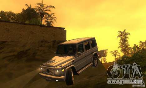 Mercedes-Benz G500 (W463) 2008 for GTA San Andreas