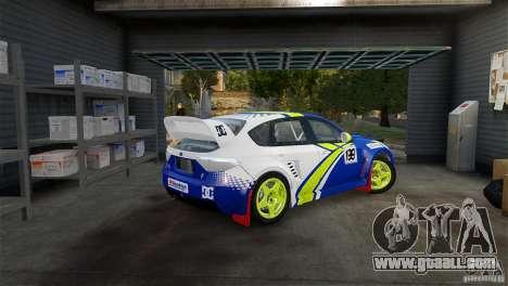 Subaru Impreza WRX STI Rallycross BFGoodric for GTA 4 left view