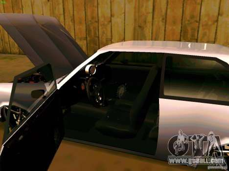 Chevrolet Chevette 1976 TDW Edit for GTA San Andreas back view
